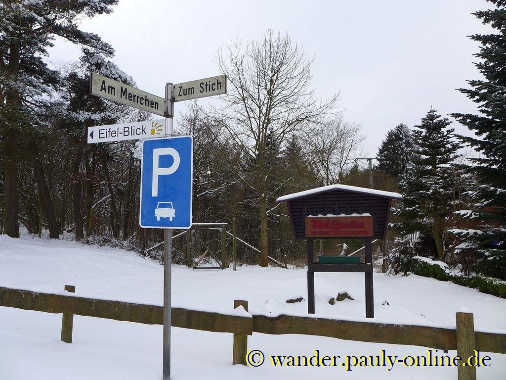 Wolfgarten Parkplatz
