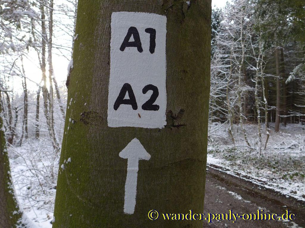 Wanderweg A1 und A2