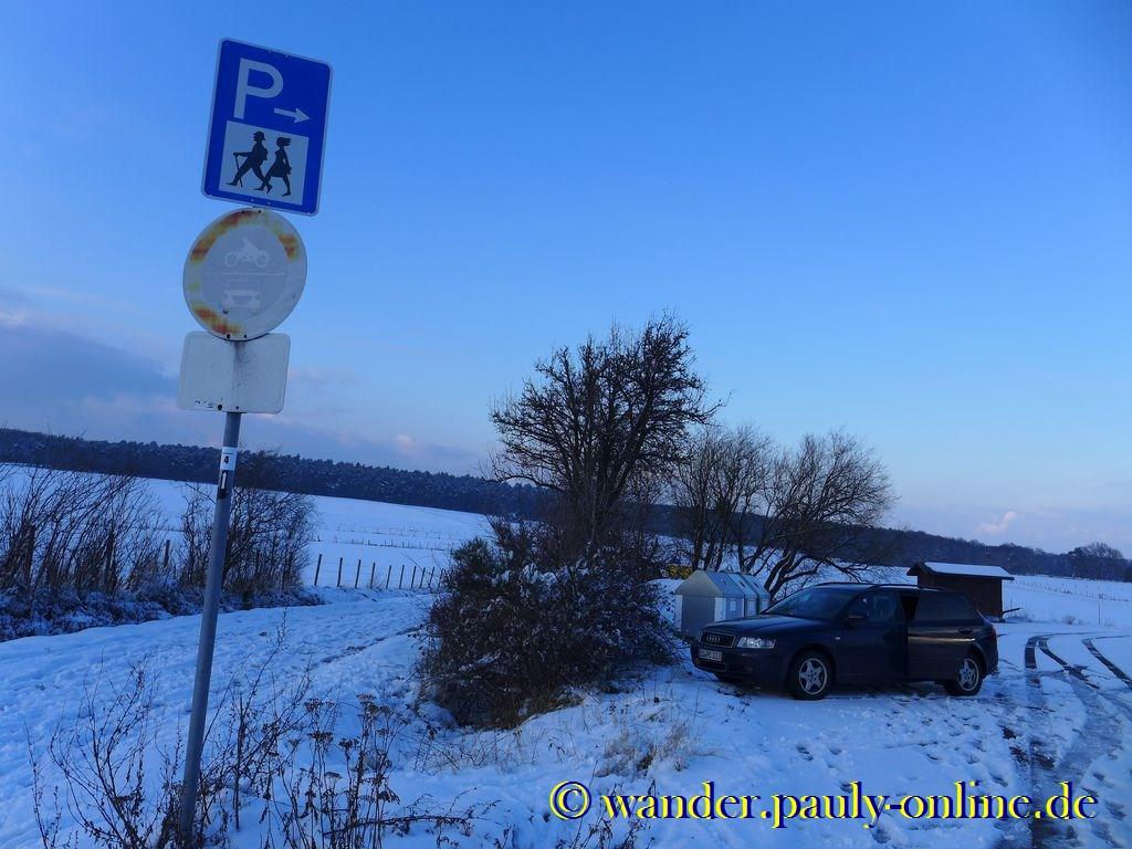 Wanderparkplatz Weiler am Berge