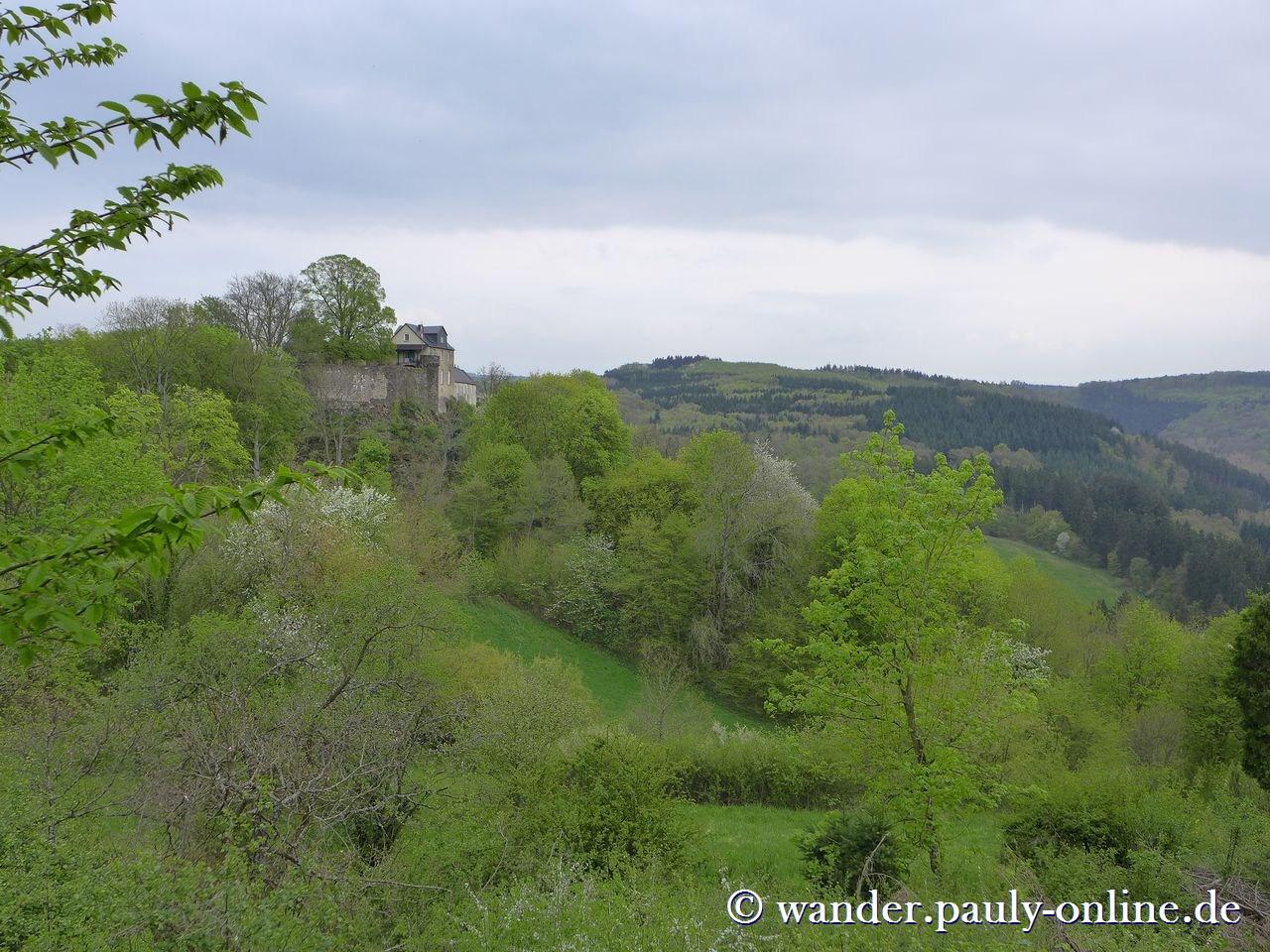 Traumschleife Ehrbachklamm - Schloss Schöneck
