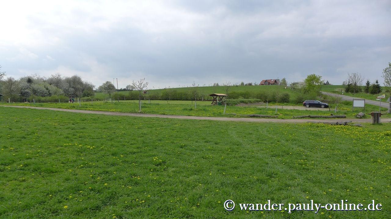 Traumschleife Ehrbachklamm - Wanderparkplatz Windhausen