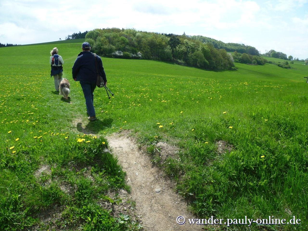 Wanderung mit Schutzheiligen