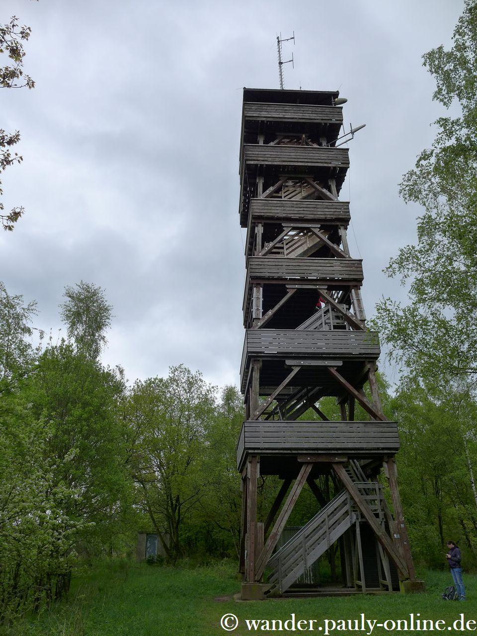 Nationalpark Eifel T7 - Feuerwachturm