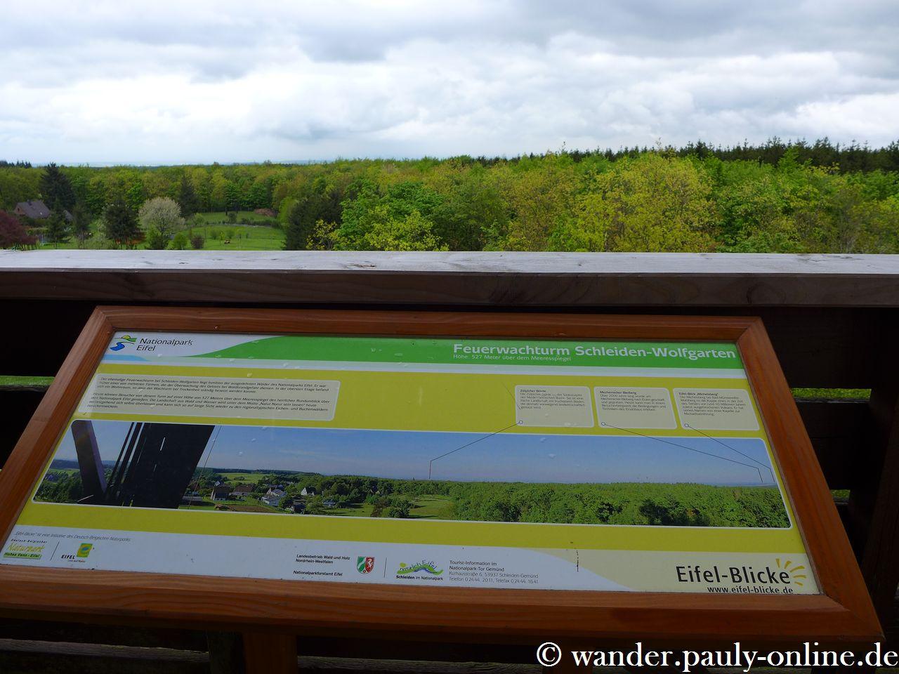 Nationalpark Eifel T7 - Eifel-Blick Feuerwachturm