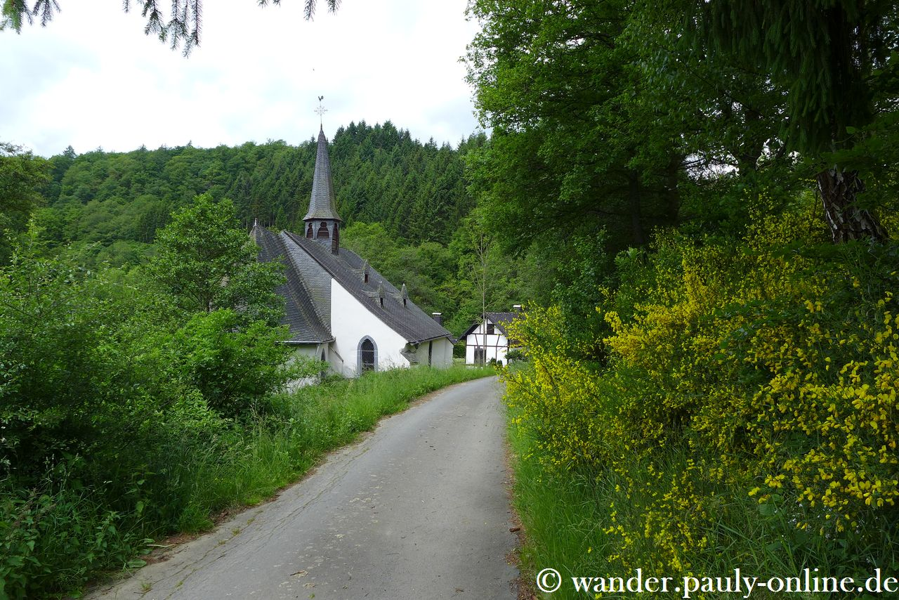 Traumpfad Wanderather - Kapelle St. Jost