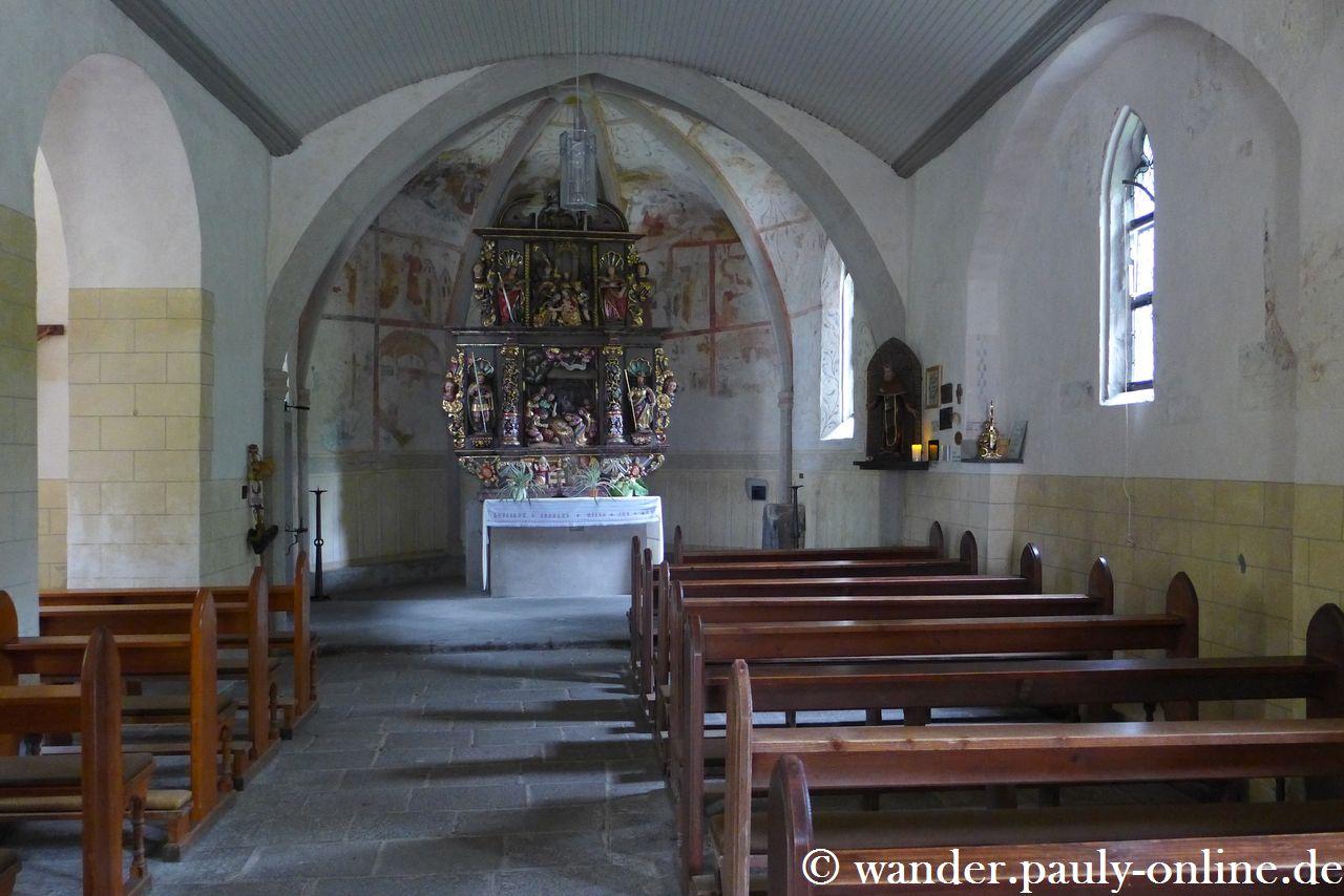 Traumpfad Wanderather - Kapelle St. Jost
