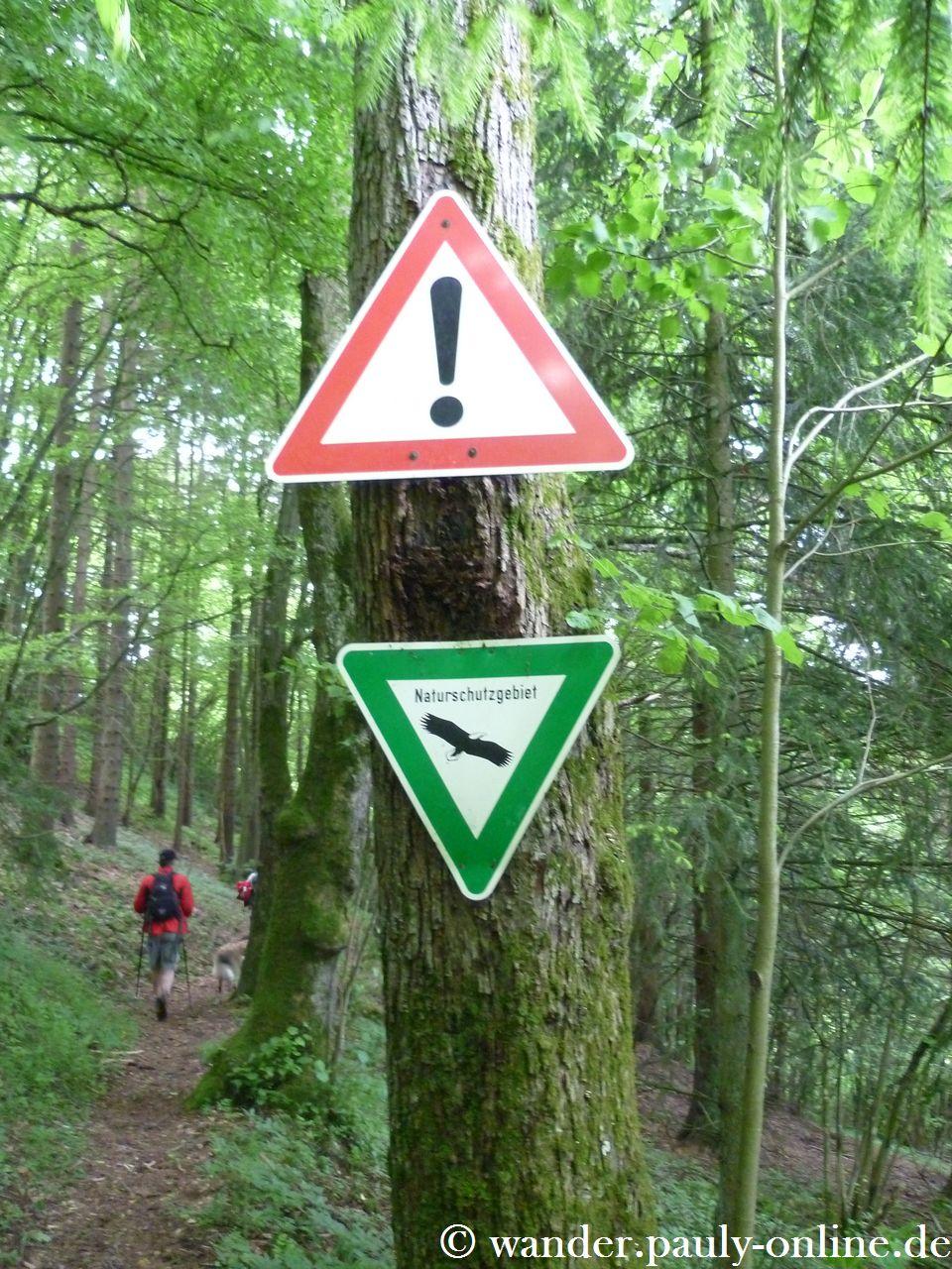 Gerolsteiner Dolomiten - Schilderwald