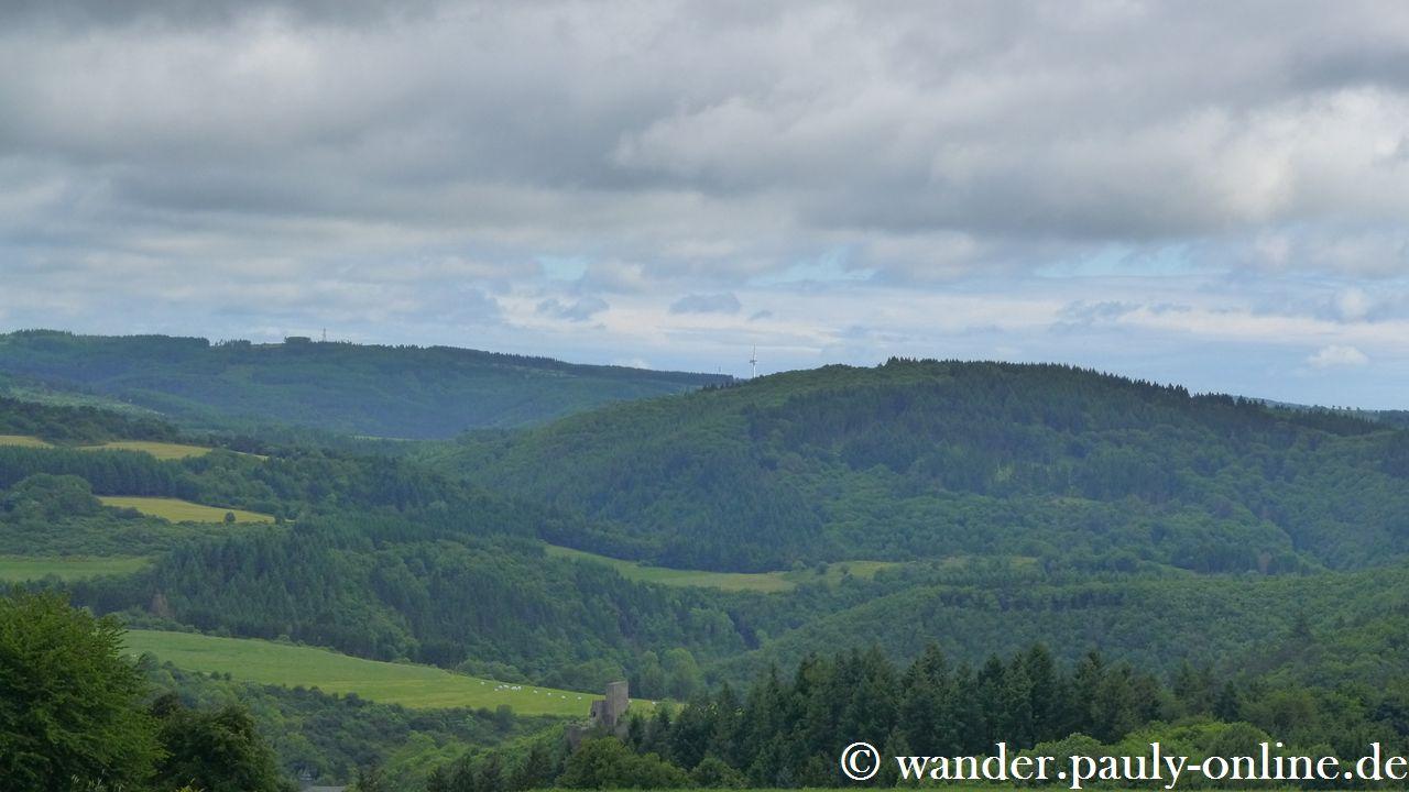Traumpfad Virne-Burgweg - Panoramablick