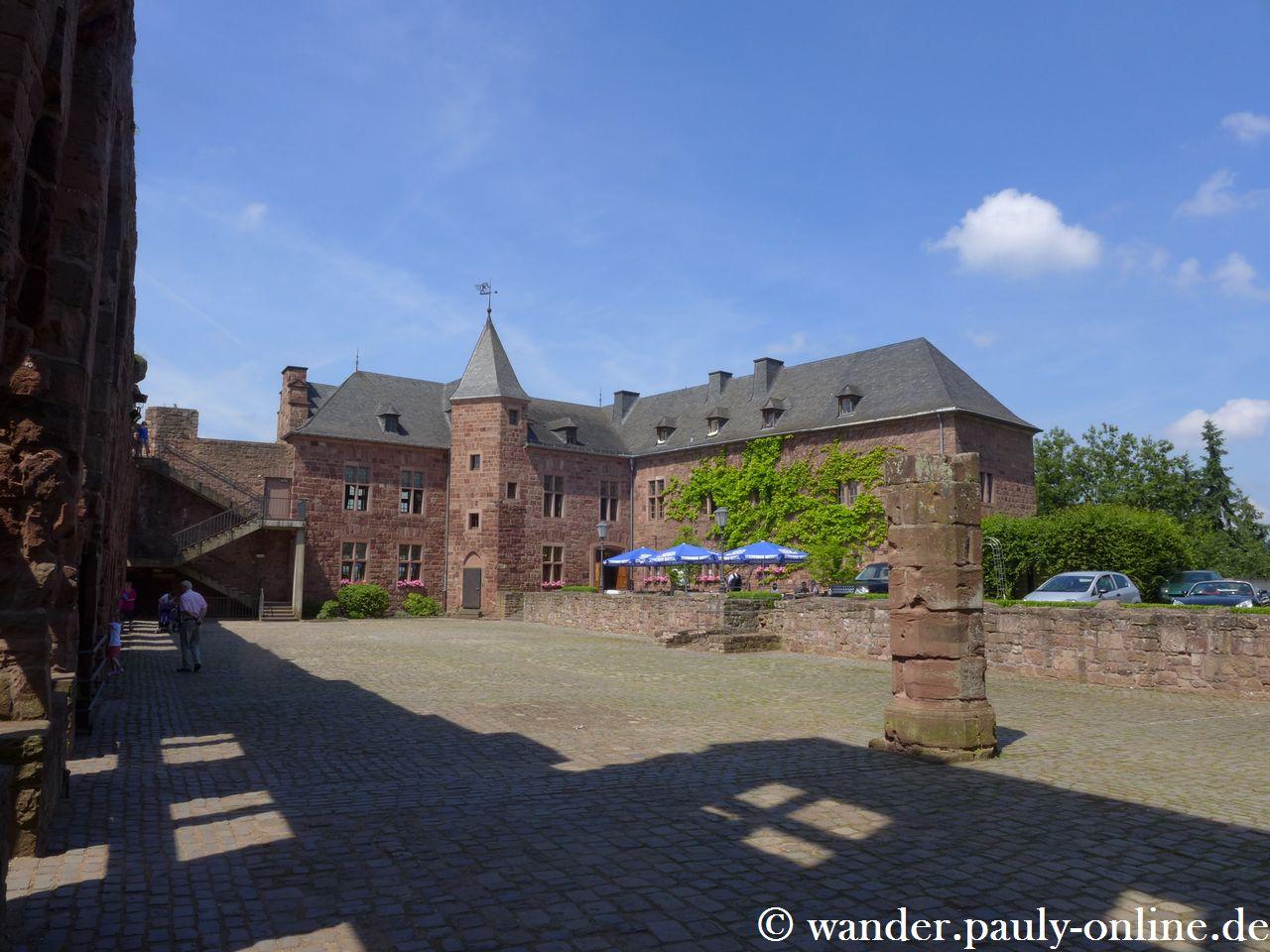 Von Abenden zur Burg Nideggen
