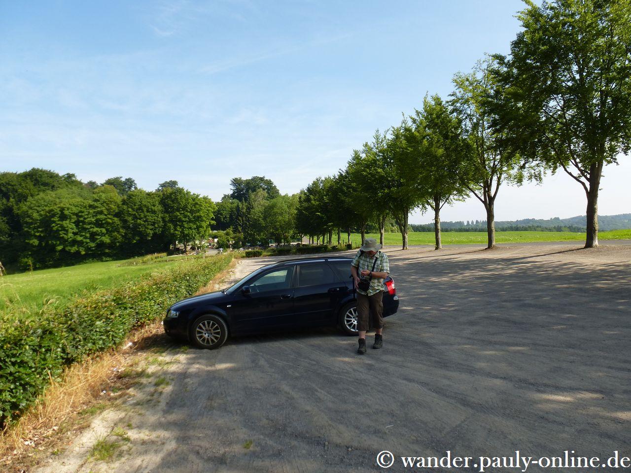 Kloster Steinfeld Parkplatz II