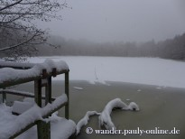 Baltesbendener Weiher im Winter